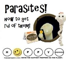 how to get rid of parasites
