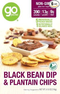 Black Bean and Plantain Chips