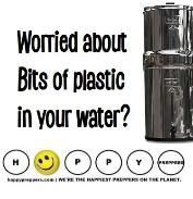 Bits of plastic in your water