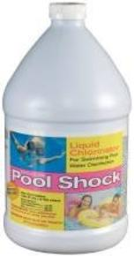 Liquid pool shock