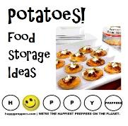Potatoes! Food storage ideas for preppers