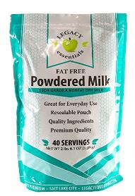 Legacy Foods Powdered Milk