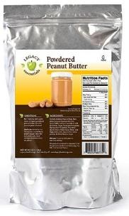 Legacy Powdered Peanut butter
