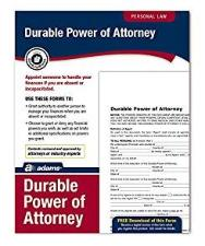 Power of Attorney with forms