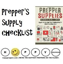 Master supply list for preppers