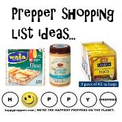 Prepper shopping list ideas