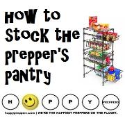 How to stock the prepper's pantry