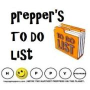 Preppers TO DO list