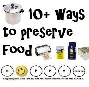10+ ways to preserve food