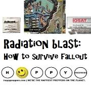 Radiation blast how to survive fallout