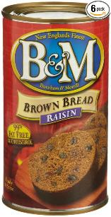 B & M Brown Bread - Raisin