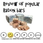 Review of popular ration bars