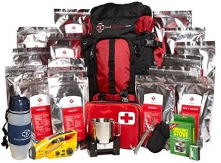 Red Cross emergency bag