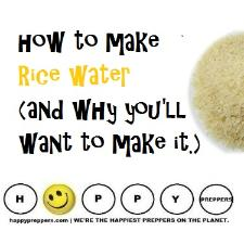 How to  make rice water and why you'll want to make it.