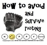 How to avoid and survive rioting
