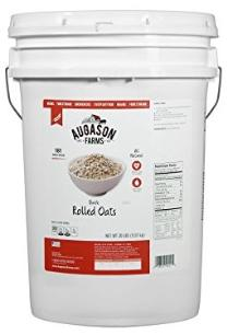 Augasson farms Rolled oats bucket