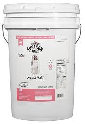 Iodized Salt bucket