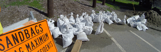 Sandbags may have a maximum allowed per resident