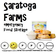 Saratoga farms emergency food