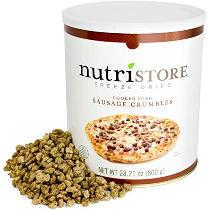 Nutristore Sausage Crumbles