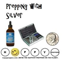 Prepping with silver