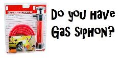 Gas siphon
