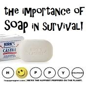 The importance of soap in survival