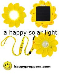 happy solar light