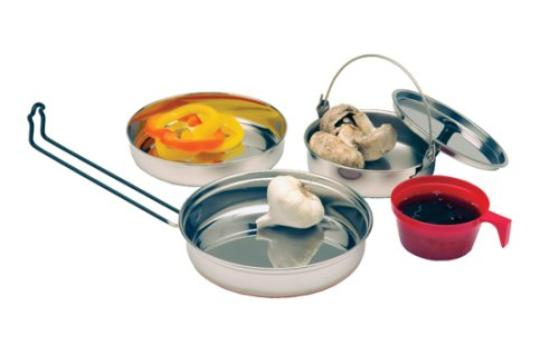 steel cooking set