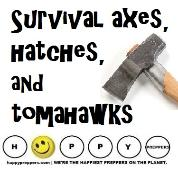 Survival axes, hatches and tomahawks