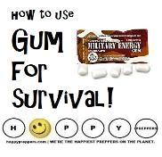 how to use gum for survival