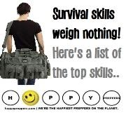 Survival skills weigh nothing