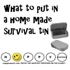 LIST: What to put in a home made survival tin
