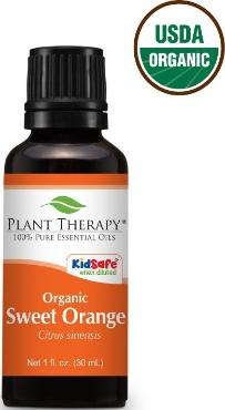 Sweet orange essential oil ~ USDA Organic