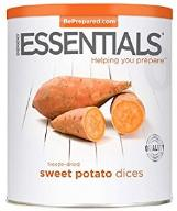 Emergency Essentials Sweet Potato Dices