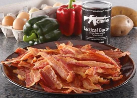 Tactical bacon in a can