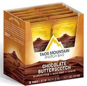 Toas Mountain Chocolate butterscotch energy bar