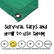 Survival Tarps and how to use them