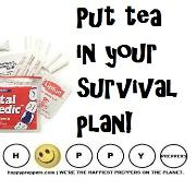 Put tea in your survival plan