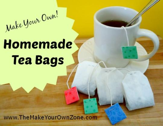 How to make your own tea bags