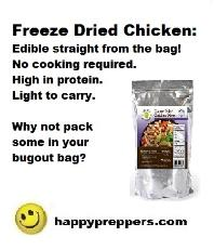 Legacy Freeze Dried Chicken
