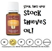 Thieves essential oil is a germ fighter