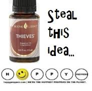 Steal this idea: thieves oil