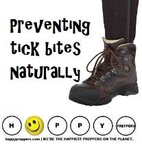 Preventing Tick Bites naturally