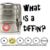 What is a tiffin?