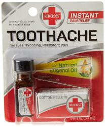 Toothache instant relief ` Red Cross