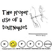 How to use a tourniquet properly ~ The proper use of a tourniquet