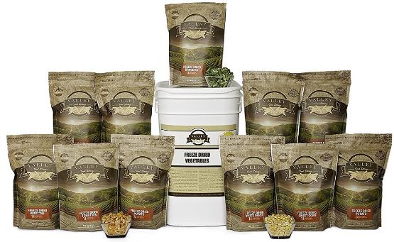 Valley Foods Freeze Dried Vegetables