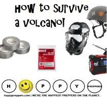 how to survive a volcano