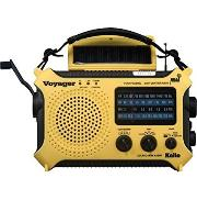 Voyager Survival Radio ~ yellow